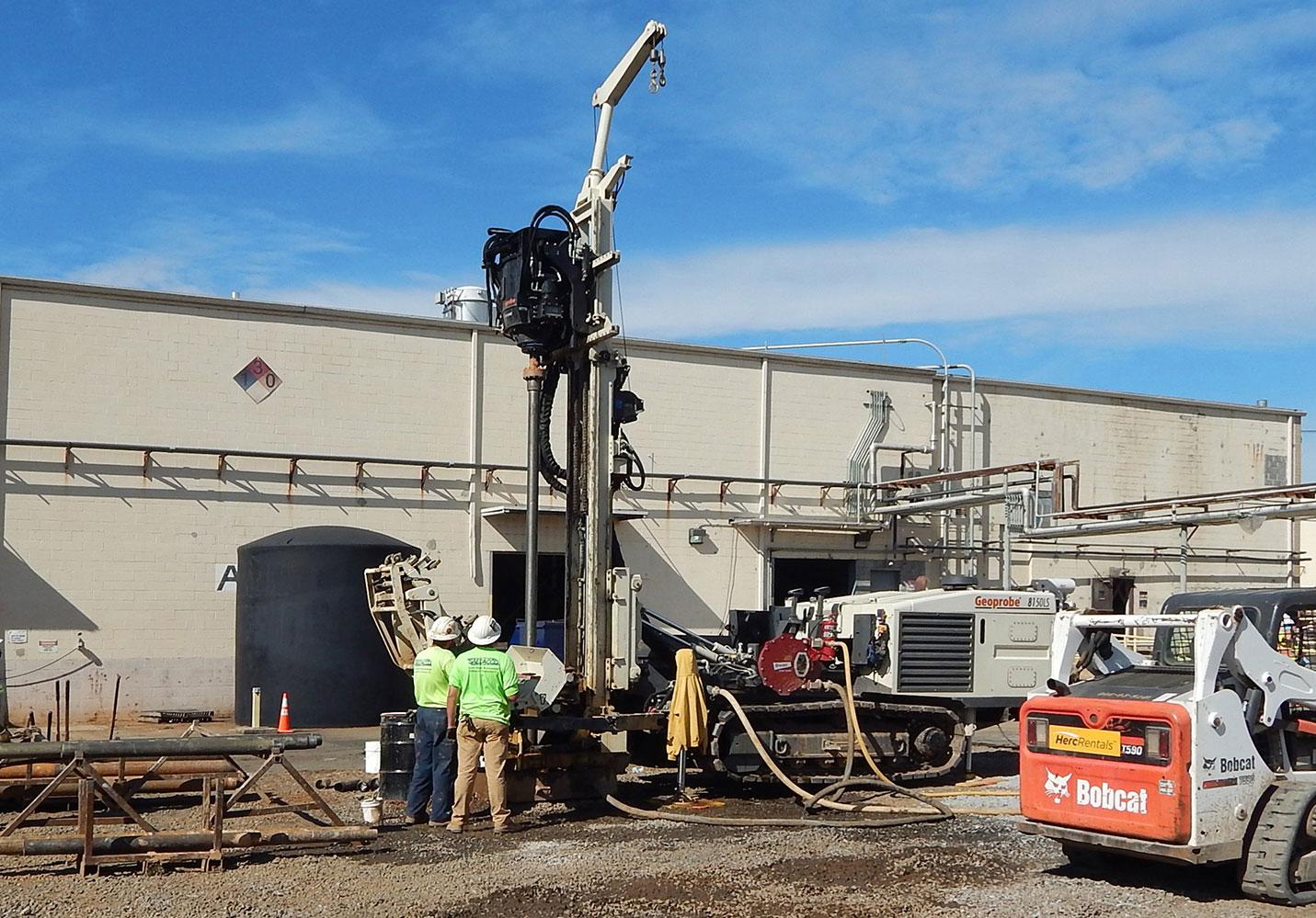 Roto-Sonic Drilling | SAEDACCO - Environmental Drilling and